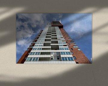 Montevideo toren in Rotterdam von Mark De Rooij