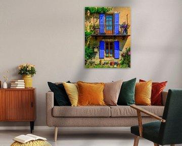 Sommerfarben in der Provence von Lars van de Goor