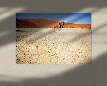 Sossusvlei, Namibie van Rik Engelgeer