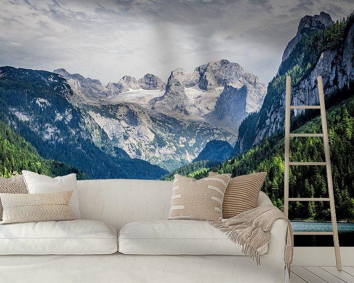 Sfeerimpressie behang: Gosausee & Dachstein van Coen Weesjes