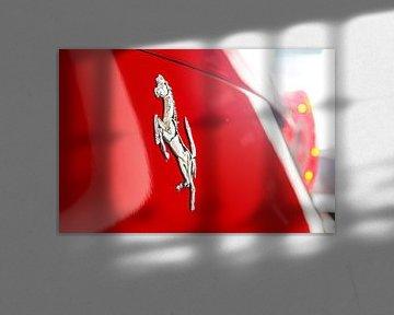 Ferrari horse van Glenn Nieuwenhuis