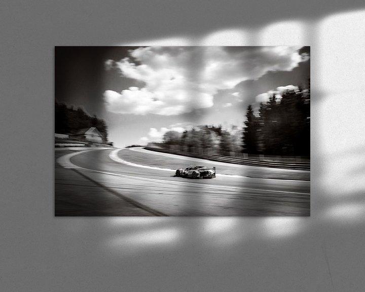 Sfeerimpressie: Toyota TS050 Hybride raceauto van Sjoerd van der Wal