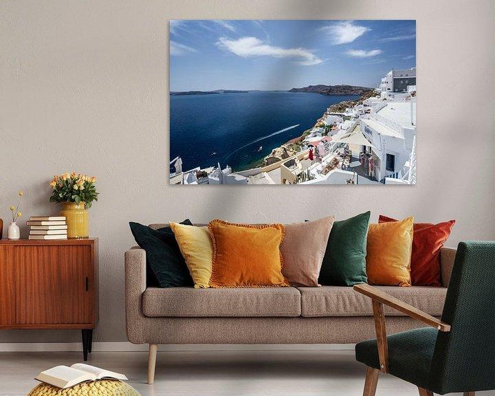 Sfeerimpressie: santorini - griekenland van Robin Smit