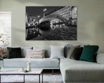 Belgique - Gand la nuit - Sint-Michielsbrug