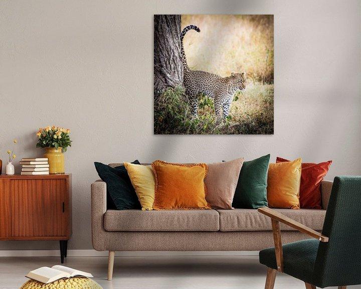 Sfeerimpressie: luipaard van Leon van der Velden