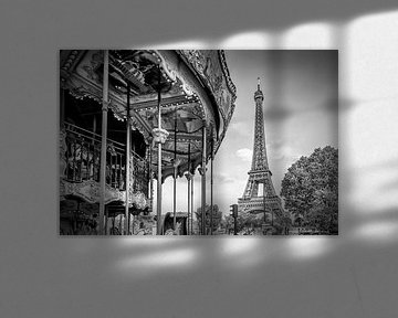 Typisch Paris   Monochrom von Melanie Viola
