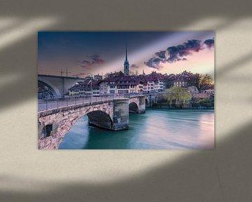 Oude binnenstad van Bern met de Aare