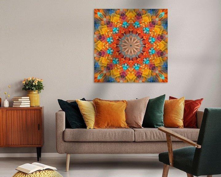 Sfeerimpressie: Mandala-stijl 27 van Marion Tenbergen