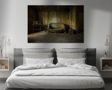 Verlaten woonkamer von Elise Manders