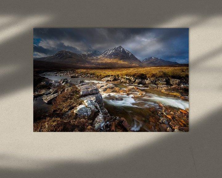Sfeerimpressie: Rivier Coupall, Schotland van Ton Drijfhamer
