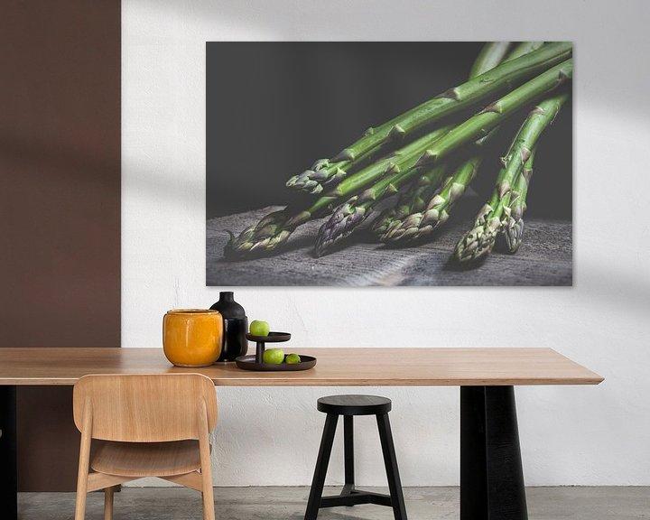 Sfeerimpressie: Groene asperge van Els Van Echelpoel