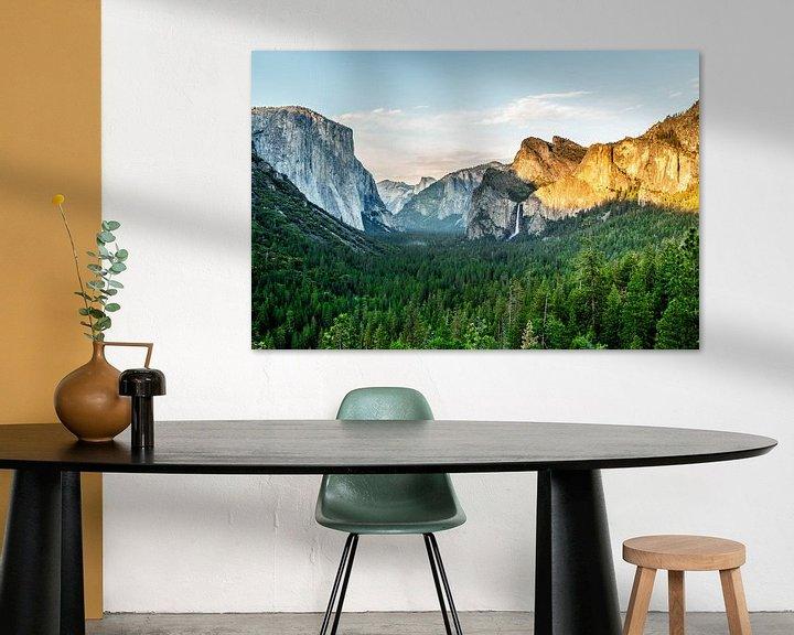 Sfeerimpressie: Yosemite National Park van Leon van der Velden