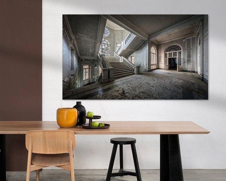 Sfeerimpressie: Hal met trap van Inge van den Brande
