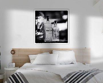 Brocante-Flaschen von Sense Photography
