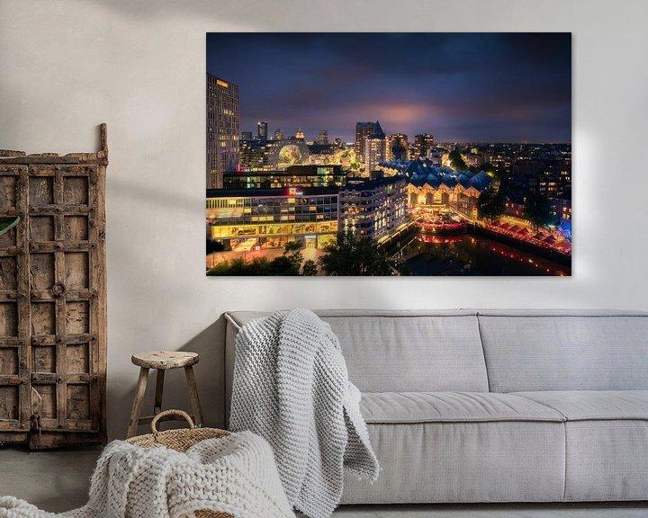 Sfeerimpressie: Rotterdamse Iconen 1 van Vincent Fennis