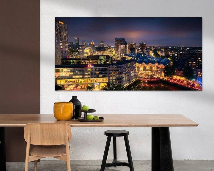 Sfeerimpressie: Rotterdamse Iconen Panorama van Vincent Fennis