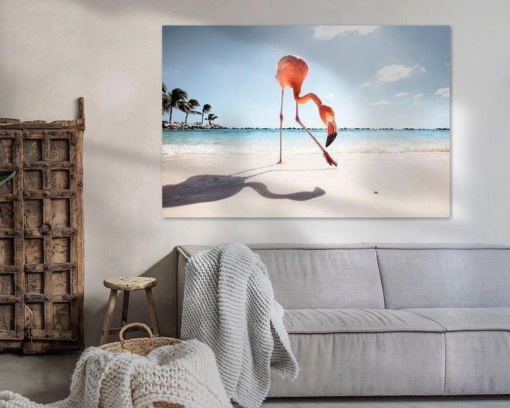 Sfeerimpressie: Flamingo Friday van Claire Droppert