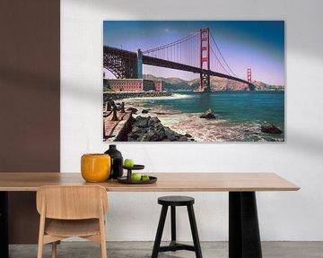 Golden Gate Bridge, San Francisco von Inge van den Brande
