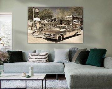 Chevrolet, antikes Auto von Inge van den Brande
