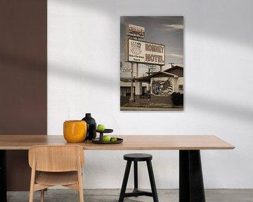 Route 66, Motel in Amerika von Inge van den Brande