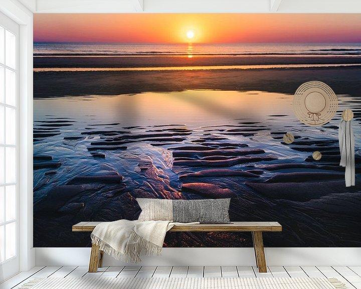 Sfeerimpressie behang: Sylt Zonsondergang van rosstek ®