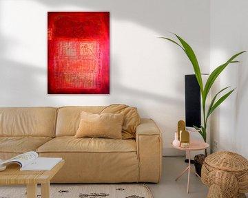 Chinese red von Inge Buddingh