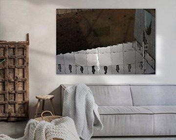 Abstract in reflectie sur Lida Zeinstra