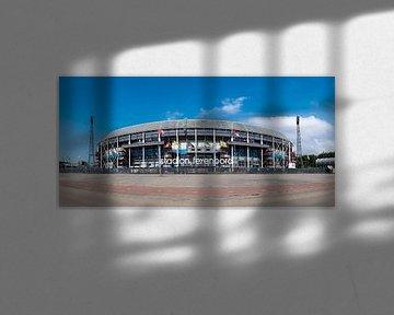 Feyenoord stadion ' de Kuip ' kleur von Midi010 Fotografie