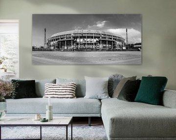 Feyenoord stadion ' de Kuip ' zwart wit sur Midi010 Fotografie