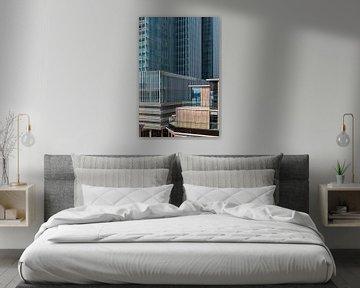 Rotterdam wilhelminapier abstract von Midi010 Fotografie