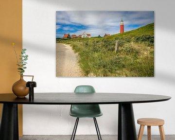 Leuchtturm Texel von Lotte Klous