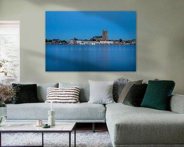 Dordrecht Blauw uur von Peter Verheijen