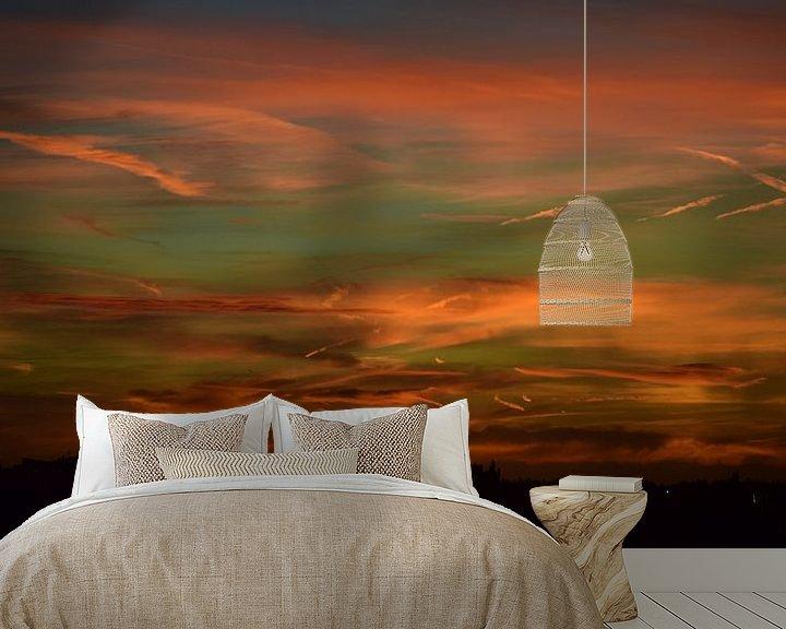 Sfeerimpressie behang: 033 HorizonTaal van Bert Veldman