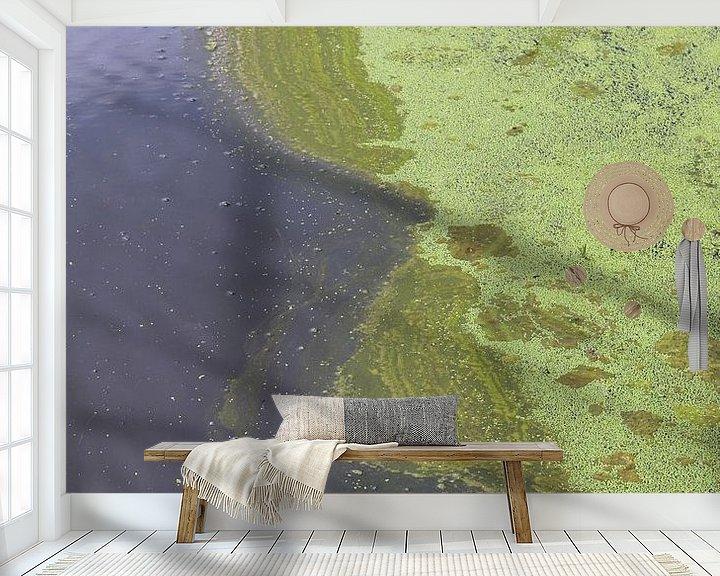 Sfeerimpressie behang: Wereld van kroos van Annie Postma