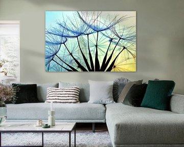 Pusteblume Blue von Julia Delgado