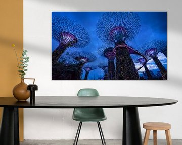 Gardens by the bay, Singapore van Rietje Bulthuis