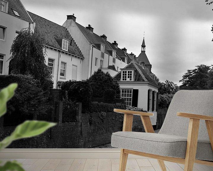 Sfeerimpressie behang: amersfoort van Matthijs Heeneman