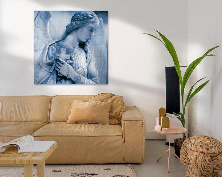 Sfeerimpressie: Blauwe Engel van Karen Havenaar