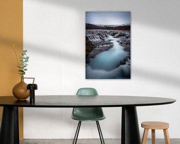 Blue waterfalls. van Remco van Adrichem