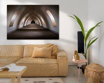 Donkere Tunnel in Verlaten Citadel.