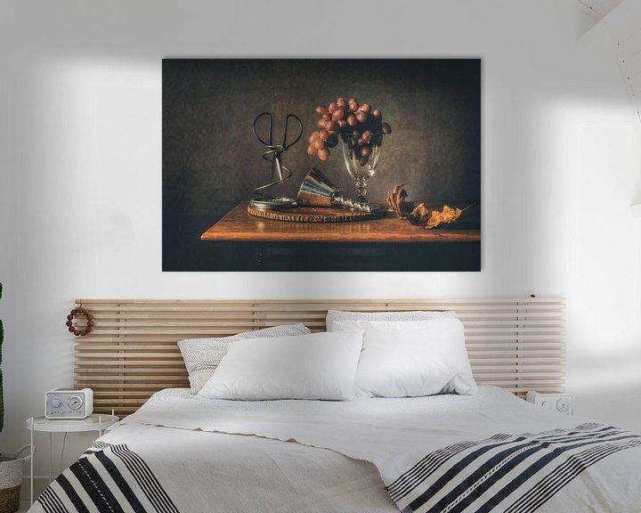 Sfeerimpressie: Stilleven druiven van Monique van Velzen