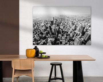Blick vom Empire State Building von Eddy Westdijk