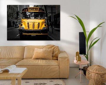 School Bus, New York City von Eddy Westdijk