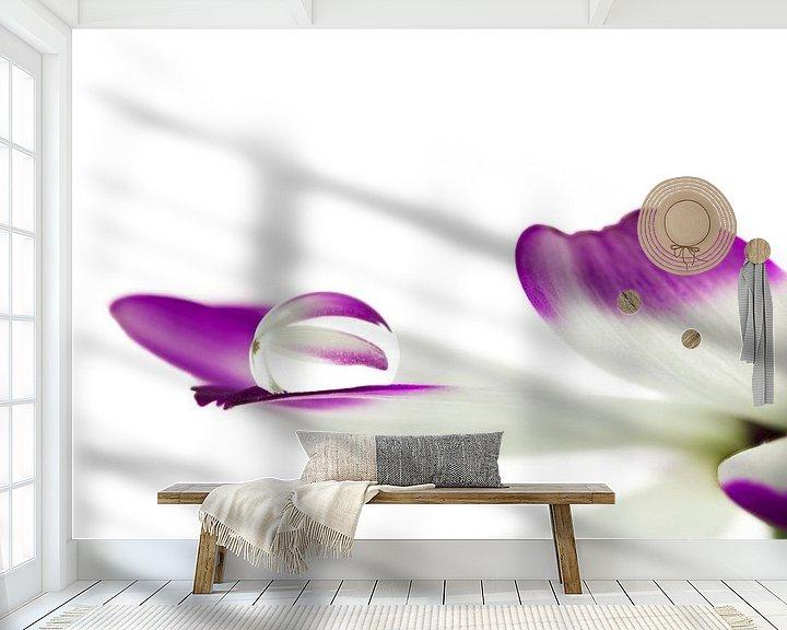 Sfeerimpressie behang: Reflectie van Tanja van Beuningen
