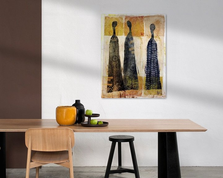 Sfeerimpressie: Three of a kind van annemiek groenhout