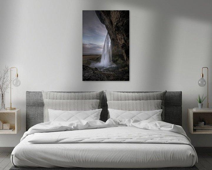 Sfeerimpressie: Seljalandsfoss Iceland van Remco van Adrichem