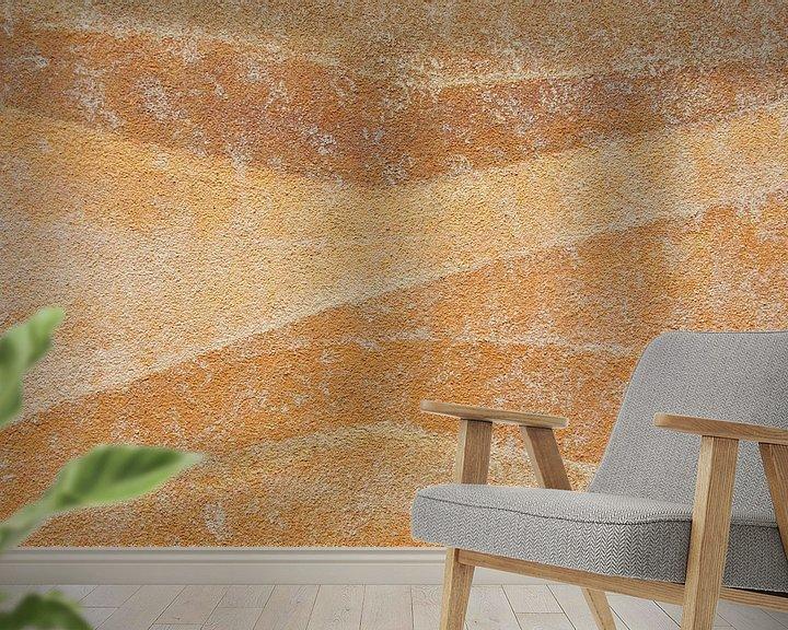 Impression: Muurschildering in pastel I sur Watze D. de Haan