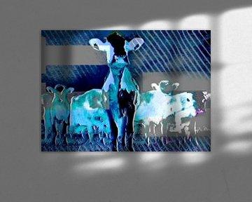 Animals, De koe von Kirsti's Kunst