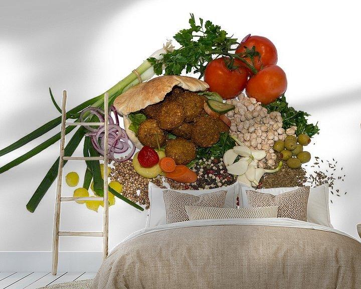 Sfeerimpressie behang: Aan tafel van Wouter Kok