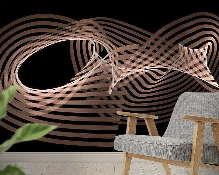 Sfeerimpressie behang: Spelen met licht van Wouter Kok